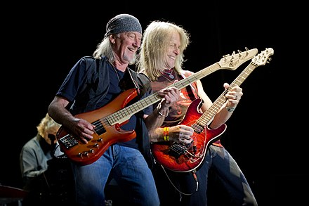 Glover and Morse in 2013 in Spain. Deep Purple - MN Gredos - 01.jpg