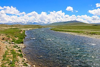 Deosai National Park - Bara Pani is largest of the rivers that traverse Deosai National Park.