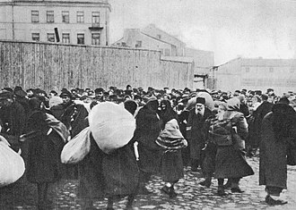 Bełżec extermination camp - Deportation of Jews to Bełżec extermination camp from Zamość, April 1942