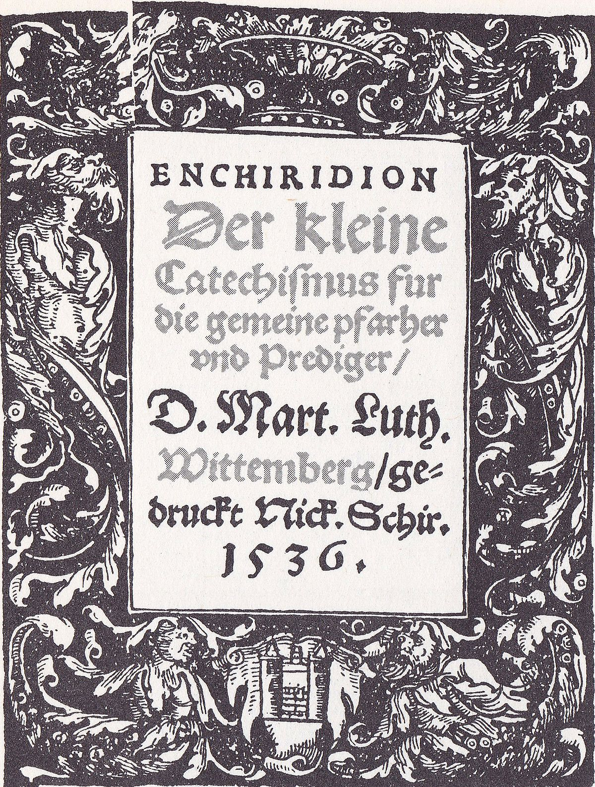 Luther Großer Katechismus