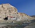 Destroyed monastery in Tibet on 2014-05-23, from- Friendship Highway-314-Shelkar to Gyatso La-Ruine-Kloster-2014-gje (cropped).jpg