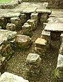 Detail from roman fort of Vindolanda 29.jpg