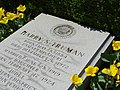 Detail of Truman's Grave - Harry S. Truman Presidential Library - Independence - Missouri - USA (41097280194).jpg