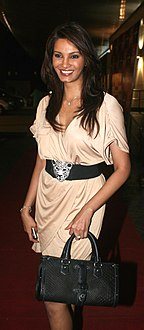 Diana Hayden at the ہاؤس فل 2 screening.