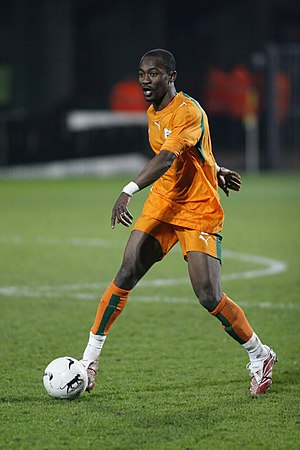 Didier Zokora - Zokora representing the Ivory Coast