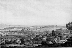 Georg Melchior Kraus - Image: Die Belagerung Von Mainz 1792S132