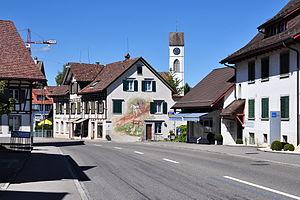 Dielsdorf - Image: Dielsdorf Wehntalerstrasse 2011 08 28 14 51 28