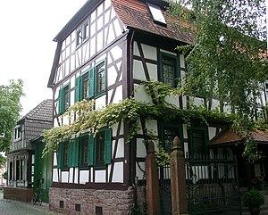 Dietzenbach - timber-frame houses in the Old Town