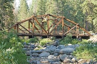 Dinkey Creek Bridge - Bridge in 2008