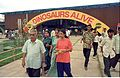 Dinosaurs Alive Exhibition - Science City - Calcutta 1995-June-July 432.JPG