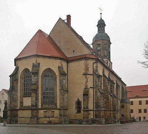 Dippoldiswalde, stadtkirche st. marien und laurentius