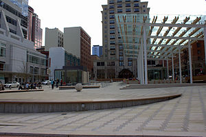English: Director Park in Portland, Oregon. Pa...