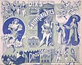 Dix's Gaiety Company -Programme for week ending Friday, December 20, Theatre Royal (Wellington. 1901. Green and blue cover spread). (21617475111).jpg