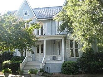 Dixon-Leftwich-Murphy House - Dixon-Leftwich-Murphy House, September 2012