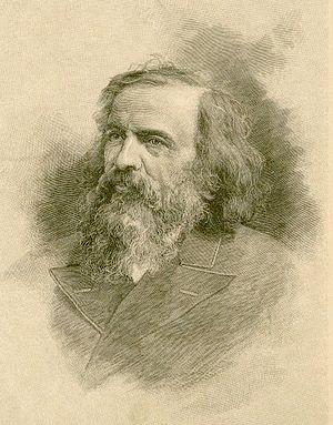 English: Russian chemist Dmitri Mendeleev
