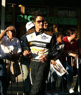 Dominik Farnbacher racecar driver