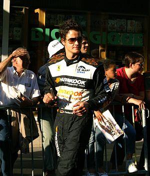 Dominik Farnbacher - Farnbacher at Le Mans in 2010