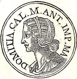 Domitia Lucilla - Domitia Lucilla from Promptuarii Iconum Insigniorum