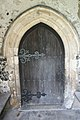 Door into St. Giles Church near Tonge - geograph.org.uk - 474409.jpg