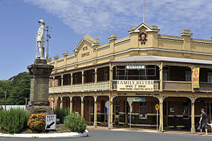 Dorrigo, New South Wales - Dorrigo Main Square