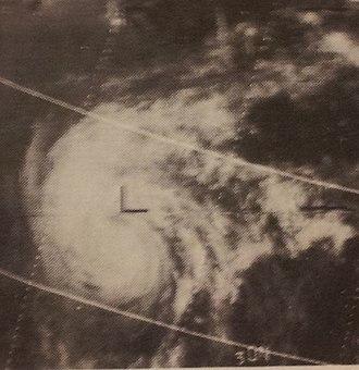 1967 Pacific typhoon season - Image: Dot July 261967ESSA5