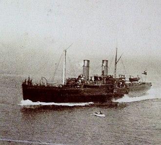 SS Douglas (1864) - Image: Douglas pictured approaching Douglas, Isle of Man