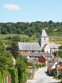 Douvrend, Seine-Maritime, France, église.JPG