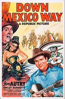 <i>Down Mexico Way</i> 1941 film by Joseph Santley