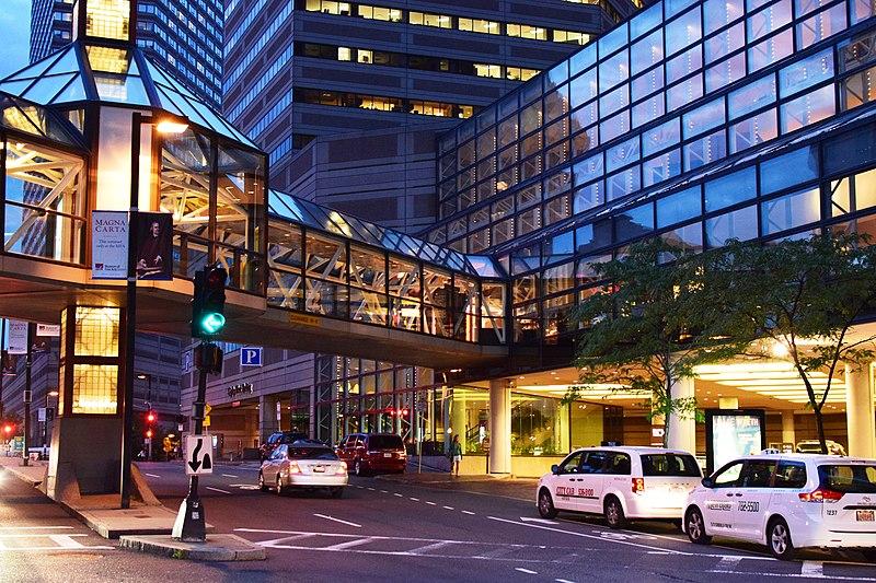 Opções de compras de luxo em Boston