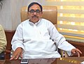 Dr. Mahendra Nath Pandey taking charge as Minister of State for (Higher Education) in the Ministry of Human Resource Development, in New Delhi on July 06, 2016.jpg