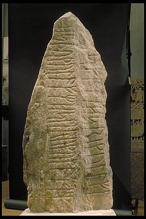 Istaby Runestone - Istaby Runestone, side A
