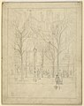 "Drawing, ""View of a Paris street"", 1913 (CH 18692553).jpg"