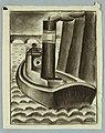 Drawing, A London River Boat, 1919 (CH 18448841-2).jpg