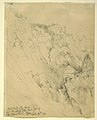 Drawing, West Wall of the Canyon, Yellowstone, July 26, 1892 (CH 18189527).jpg
