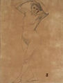 Drawing of a Nude by Fujishima Takeji (Geidai Museum).jpg