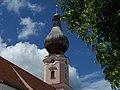Dreifaltigkeitsberg Wallfahrtskirche Turm 01 (Moosthenning).jpg