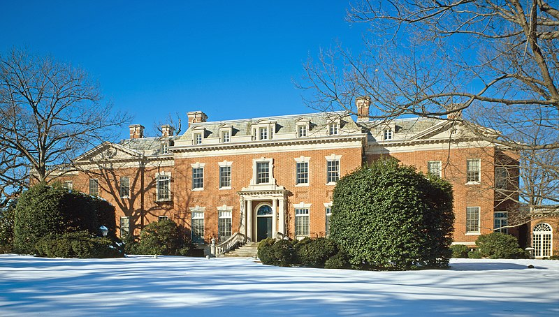 File:Dumbarton Oaks - house photo with snow.jpg