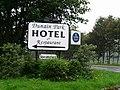 Dunain Park Hotel roadside entrance. - geograph.org.uk - 250748.jpg
