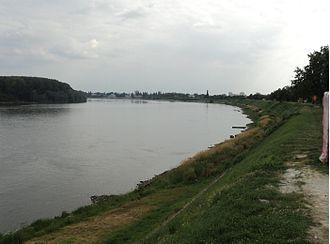 Borovo, Croatia - Danube river in Borovo