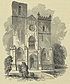 Dunfermline Abbey - The Western Front 1852.jpg