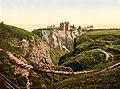 Dunottar Castle, Stonehaven, Scotland, 1890s.jpg
