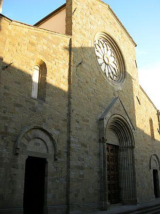 Roman Catholic Diocese of Arezzo-Cortona-Sansepolcro - Image: Duomo di sansepolcro, esterno