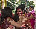 Durga Puja sindoor khela before image immersion Vijaya Dashami.jpg