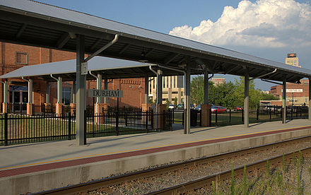 Durham's Amtrak station Durhamstationfls.jpg