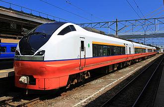 Tsugaru (train) - Image: E751 A102 Tsugaru 1 Aomori 20110712