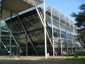 Jekyll (TV series) - Image: EA building, Chertsey, Surrey