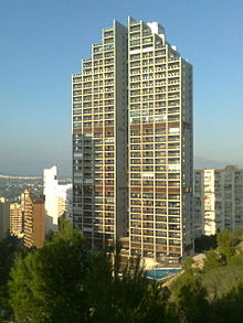 List Of Tallest Buildings In Benidorm Wikipedia