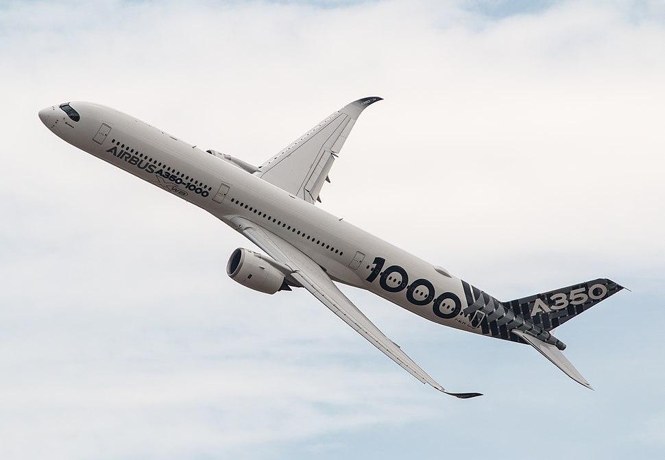 EGLF - Airbus A350 - F-WLXV (43447425601)