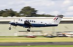 EGTD - Beech B200 Super King Air - Royal Air Force - ZK452 (29117123247).jpg
