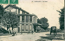 La seconde gare de Chelles, celle de 1857